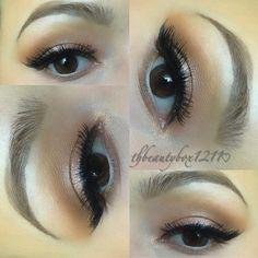 Summer bronzed makeup