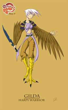 My Little Mages- Gilda the Harpy by Didj on deviantART