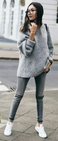 Grey Sweater grey pant
