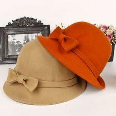 Lana arco cappello