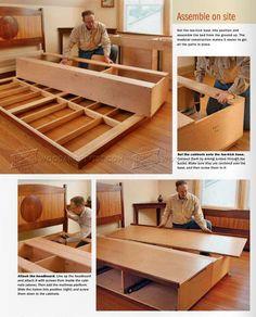 #2733 Under Bed Storage Plans - Furniture Plans