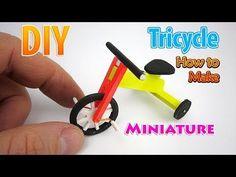 Как сделать мини трехколесный велосипед. Без полимерной глины - YouTube