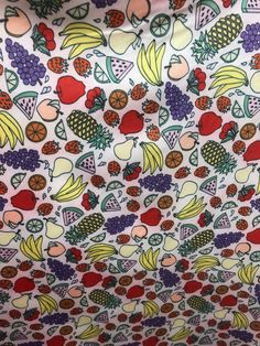 new fruits all over print on nylon spandex 4 way stretch fabric 60 inch wide sold by the yard Ruffle Fabric, Mesh Fabric, Spandex Fabric, New Fruit, 4 Way Stretch Fabric, Hologram, Pink Color, Neon, Quilts