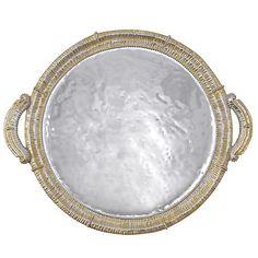 Mariposa Reveillon Round Tray