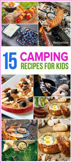 Planning a camp with children? Then, here are some yummy recipes of easy camping meals for kids. Take a look and prepare for a great campfire!