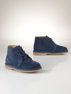 Carl Suede Chukka Boot - Toddler 4-10 Shoes - RalphLauren.com