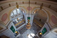 From the top of the dome of the Legislative Building | Photo courtesy of the Washington State Legislature