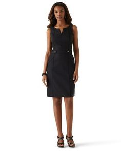 Just got this LBD today! White House | Black Market Perfect Form A-line Shift Dress #whbm