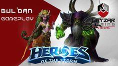Heroes of the Storm (Gameplay) - Gul'dan vs Lunara (Gul'dan Discussion -...