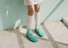 Socks + jellies = awesomekid