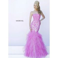 Sherri Hill 11263 Strapless Sequin Gown #CrushingOnRissyRoos
