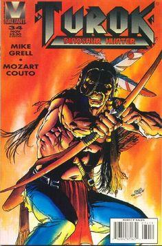 Cover for Turok, Dinosaur Hunter (Acclaim / Valiant, 1993 series) #34