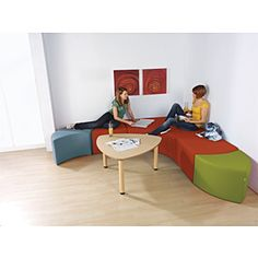 As one of the world's leading children's furniture manufacturers, HABA® has been creating hand-made furniture for more than 60 years. Teen Room Furniture, Library Furniture, Lounge Furniture, Furniture Making, Soft Seating, Lounge Seating, Teen Lounge, Furniture Manufacturers, Floor Chair