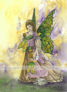"Fairy Art-""Attachment Parenting Faerie"" by: Tegwyn DeForest"
