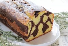 Chec Dalmatian - Desert De Casa - Maria Popa Dalmatian, Deserts, Postres, Dessert, Plated Desserts, Desserts