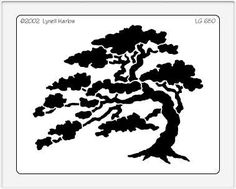 Dreamweaver Giant Brass Stencil - Cedar Tree,$10.00