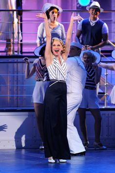 Sutton Foster playing the role of Reno Sweeney in Anything Goes!