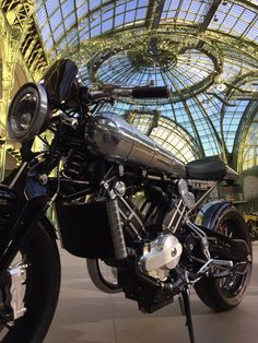 Art Deco Brough Superior SS100 in Art Nouveau Grand Palais. Bonhams Auction Paris 4th Feb. 2015