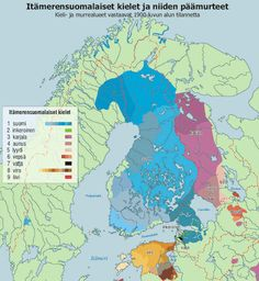 - Finnic languages and dialects by 1900.Key: 1 Finnish2...