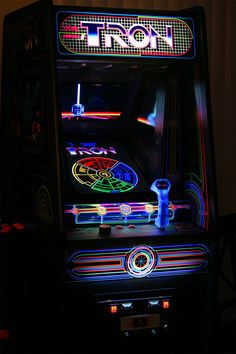 "madddscience: """"The famous Tron arcade game in the 1980's included both a traditional black light and a black light blue bulb. Since most of these machines have been repaired by technicians that do..."