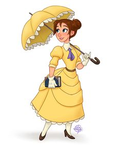 Jane Porter (Tarzan) (c) 1999 Edgar Rice Burroughs & Disney Disney Pixar, Disney Jane, Walt Disney Animation, Disney Fan Art, Cute Disney, Disney Girls, Disney And Dreamworks, Disney Movies, Disney Characters