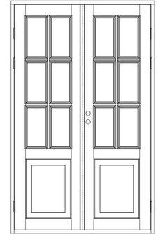 Ulkopariovet, ikkunalliset - Ulkopariovet - 100-502-13 - 2