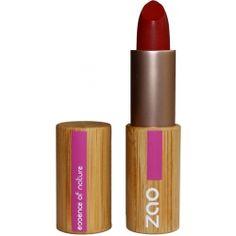 Rouge à Lèvres mat 465 (Rouge sombre) * - zao makeup