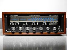 Rare Marantz 2265B black face - Click on photo for more stereo pics.