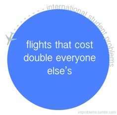 flights that cost double everyone else's #intproblems