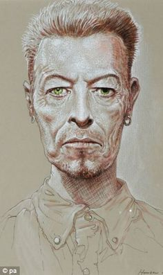 David Bowie drawings boost Peter Howson auction as collection sells for more than Peter Howson, David Bowie Art, Imagination Art, Chalk Drawings, High Art, Art Fair, Drawing Sketches, Pop Art, At Least