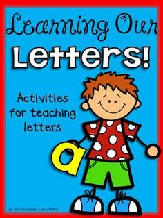ABC Literacy Centers - Learning Our Letters!
