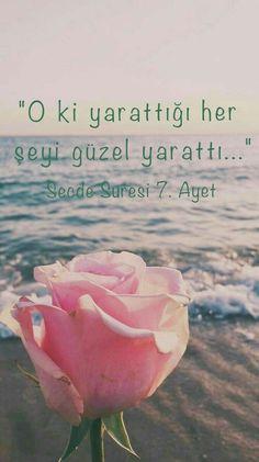 #KuranıKerim #Ayet #Kuran #islam- corek-otu-yagi.com Beautiful Islamic Quotes, Hafiz, Allah Islam