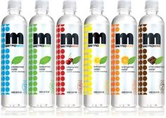 Loved Metromint before I knew I was friends with the President of the company. Peppermint and Spearmint are my favorites. They make great iced tea! Mint Water, Water Branding, Beverage Packaging, Bottle Packaging, Infused Water, Slushies, Juice Cleanse, Printable Coupons, Detox Drinks