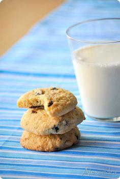 Μα...γυρεύοντας με την Αλεξάνδρα: Cookies βανίλιας με κομμάτια σοκολάτας