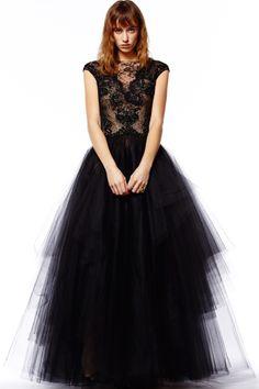 Reem Acra fashion collection, pre-autumn/winter 2014