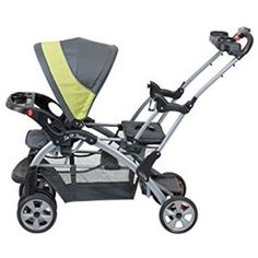 Baby Trend Sit N Stand Infant /& Toddler Double Inline Tandem Stroller *Carbon