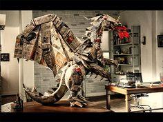 newspaper dragon