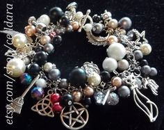 Witch's Baubles & Bubbles Bracelet 2 by CellDara on Etsy