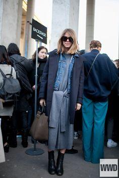 wwd:      They Are Wearing: Paris Fashion Week Photo by Kuba...