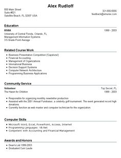 A Stay at Home Mom resume sample for parents with only a little ...