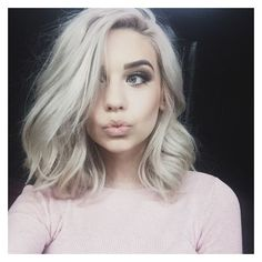 "Amanda Steele on Instagram: ""can't resist the selfie-taking when i get... ❤ liked on Polyvore featuring hair"