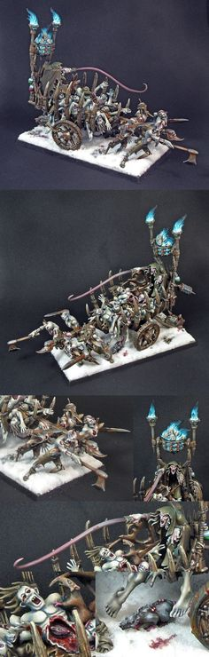 Vampire counts corpse cart / Charette macabre - werwolf