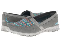 SKECHERS Two Step Gray/Multi - Zappos.com Free Shipping BOTH Ways