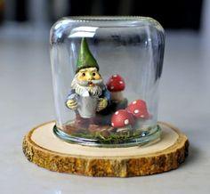 Ideas for Oui yogurt jars - diorama
