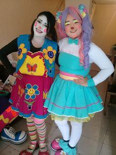 Female Clown, Clowns, Harajuku, Lady, Girls, Anime, Style, Fashion, Characters