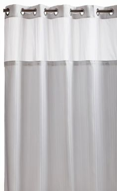 Curtain Ideas Hookless Shower With Detachable Liner