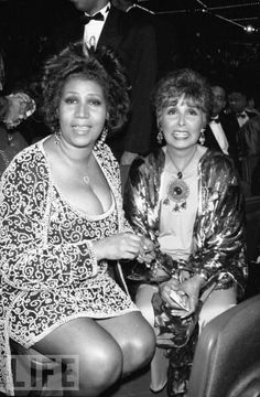 Aretha & Lena...Lena loved the Sound of Aretha. Now here they are together. Imagine at duet of together?