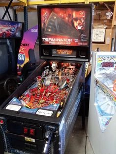 """Terminator 3 Pinball Machine"" https://sumally.com/p/325164"