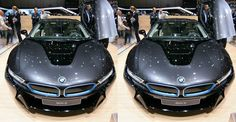 Ultimate sophistication is the middle name for BMW. Example of side-by-side image created with 3DWiggle.