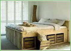 risultati immagini per pallet letto - Beautiful Bed Frames